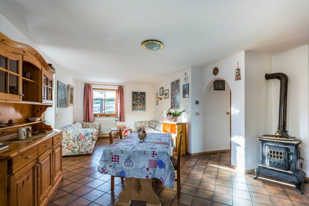 Appartamento Doleda per bambini sulle Dolomiti in Val di Fassa