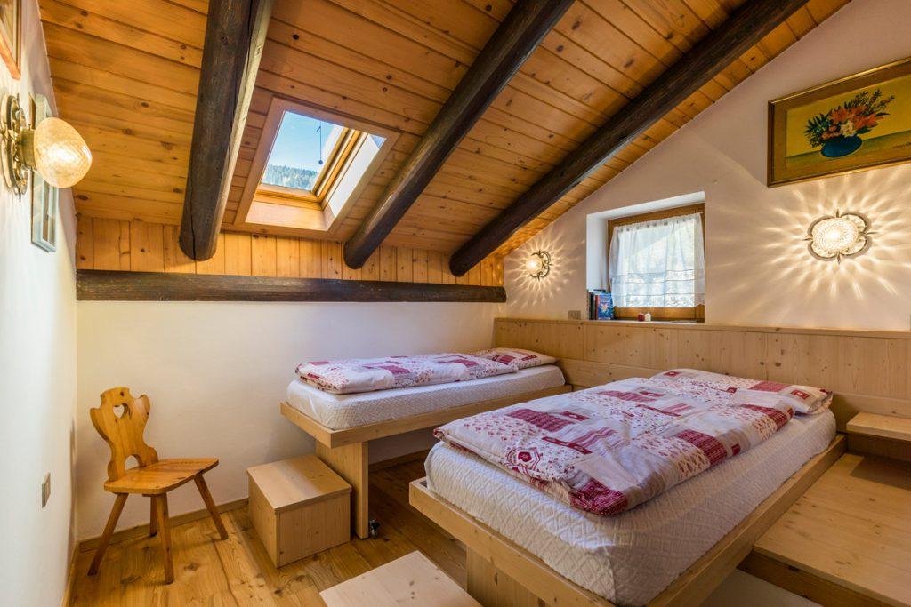 Appartamento Eveis di Ciasa dò Parè, vacanze per bambini in Val di Fassa