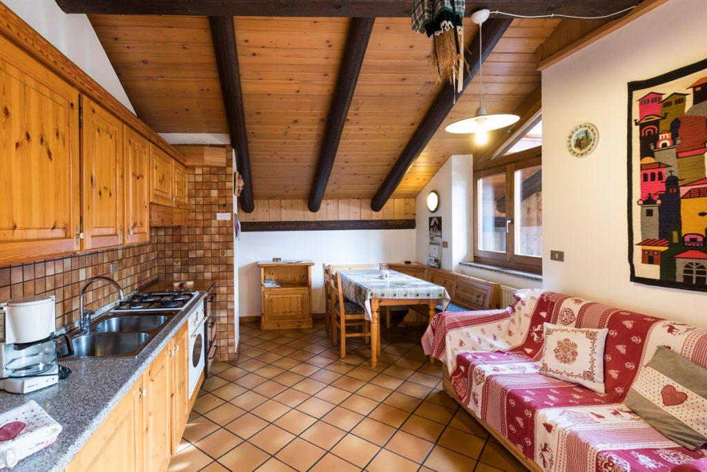 Appartamento vacanze Focobon in legno • Soraga in Val di Fassa