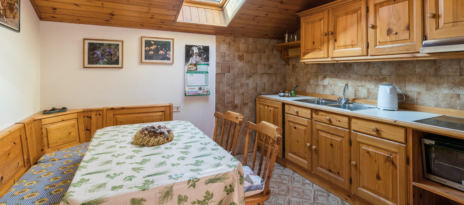 Holiday apartments in Val di Fassa, Soraga: Antermoia