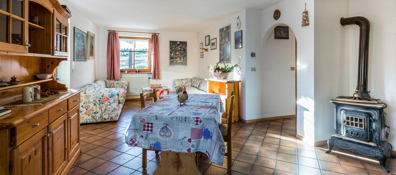 Doleda Appartamento famiglie e bambini in Val di Fassa