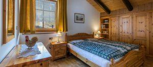 Appartamento Fobocon in legno di Ciasa dò Parè in Val di Fassa