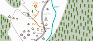 Ciasa dò Parè a Soraga in Val di Fassa Map
