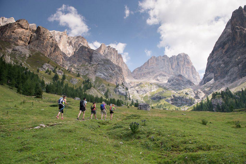 Active holidays in Trentino mountains • Soraga, Val di Fassa