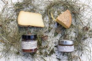 Cesto regalo Dessert salato con Prodotti Biologici della Val di Fassa