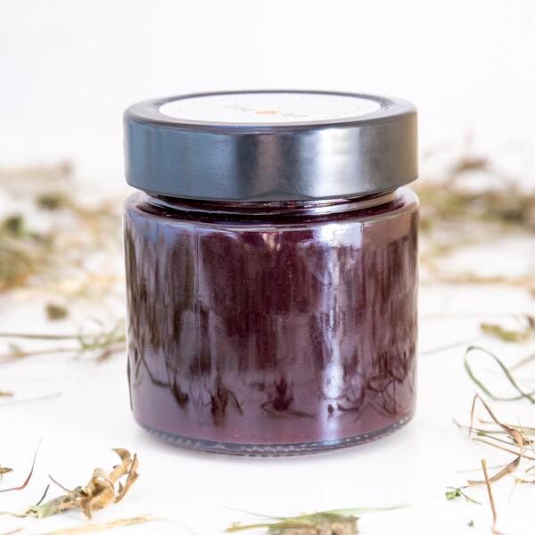 confettura di susine e mirtilli biologica