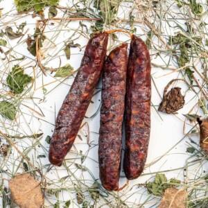 Kaminwurst Salame Capra e Maiale • Ciasa dò Parè