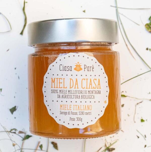 miele millefiori biologico di montagna