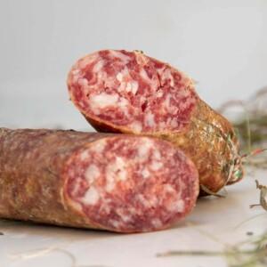 pasta del salame di capra e maiale