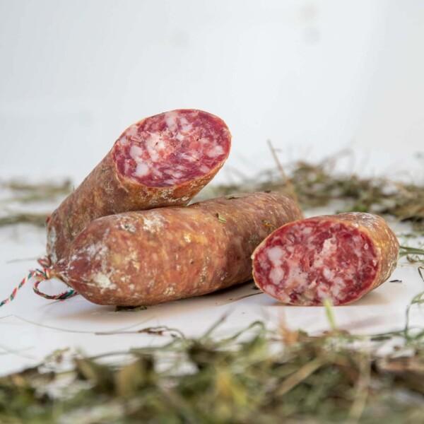 salame trentino biologico di capra e maiale