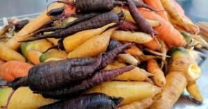 carote appena raccolte