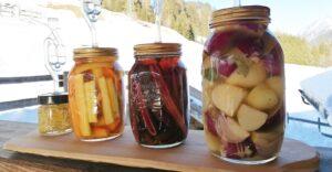 verdure in fermentazione